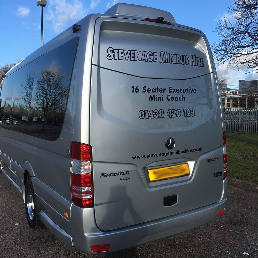 16 Seater Executive Mini Coach | Minibus Hire Stevenage